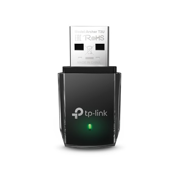 TP-LINK AC1300 Mini Wi-Fi MU-MIMO USB Adapter?Mini Size, 867Mbps at 5GHz + 400Mbps at 2.4GHz, USB 3.0