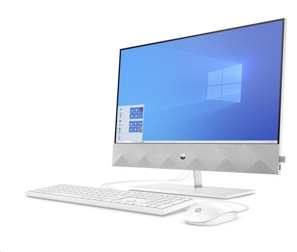 HP Pavilion 24-k0000nc, Ryzen 5 4600H, 23.8 FHD/IPS, Radeon Vega 6, 8GB, SSD 512GB, noODD, W10, 2-2-0