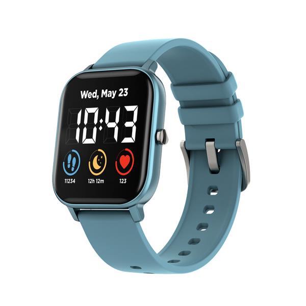 Canyon CNS-SW74BL Wildberry smart hodinky, BT, farebný LCD displej 1.3´´, vodotesné IP67, multišport režim, modré