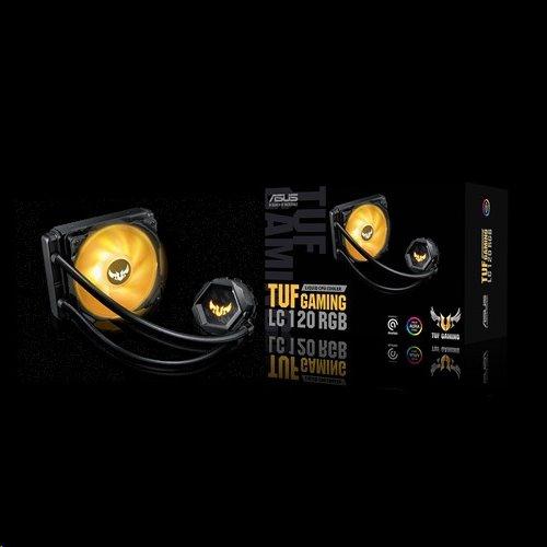ASUS TUF GAMING LC 120 RGB kvapalinový chladič CPU, Aura Sync RGB, 120mm