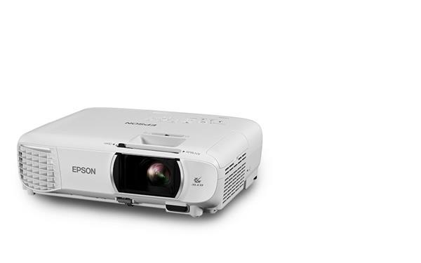 Epson projektor EH-TW750, 3LCD, 3400ANSI, 16000:1, Full HD, HDMI, MHL, WiFi , Miracast + platno