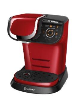 BOSCH_TASSIMO MY WAY 2, Prístroj na horúce nápoje, červeno-čierny