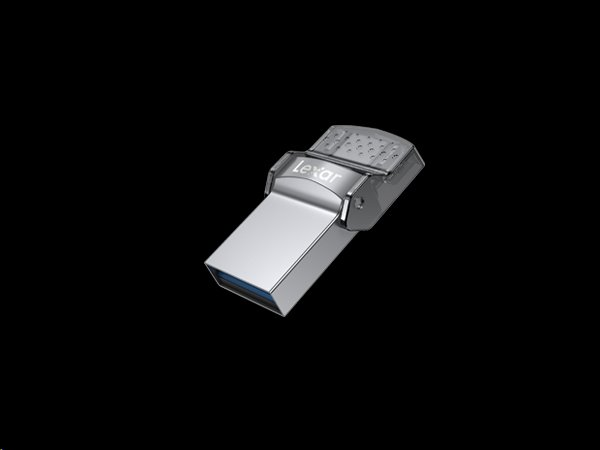 128GB Lexar® Dual Type-C and Type-A USB 3.0 flash drive, up to 100MB/s read