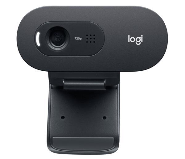 Logitech® C505 HD Webcam - BLACK - USB - N/A - EMEA - 935