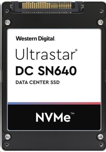 WD ULTRASTAR DC SSD Server SN640, 960GB (SFF-7 7MM PCIe TLC RI-0.8DW/D BICS4 SE)