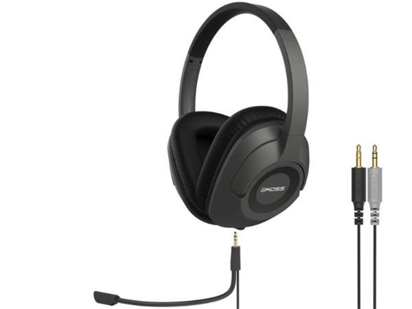 KOSS SB42 ultralahke herne sluchatka s mikrofonom