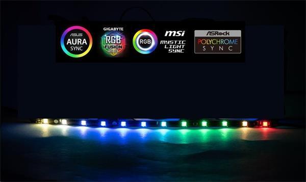 1stCOOL AURA RAINBOW ARGB LED pásik 30cm