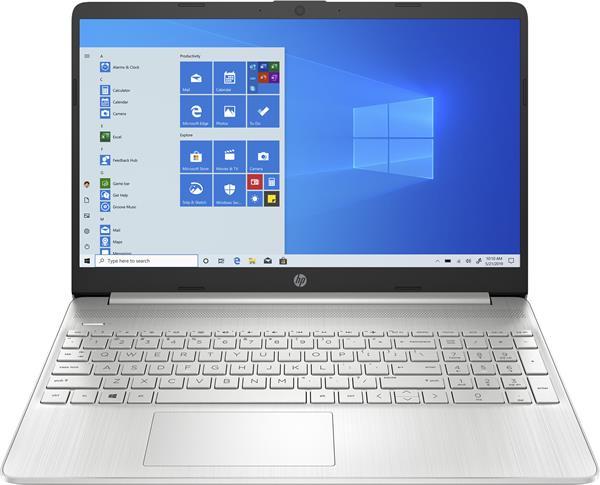 HP 15s-eq1004nc, Athlon 3050U, 15.6 FHD, AMD Radeon, 8GB, SSD 256GB, noODD, W10s, 2-2-0, Natural silver