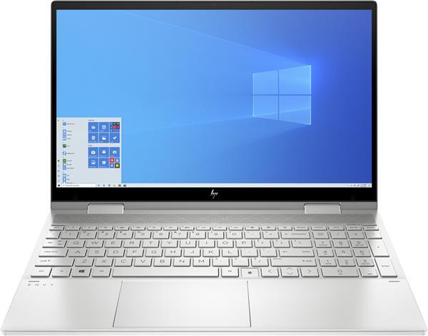 HP ENVY x360 15-ed1001nc, i5-1135G7, 15.6 FHD/Touch, Intel Iris Xe, 16GB, SSD 1TB, noODD, W10, 2-2-2, Natural silver