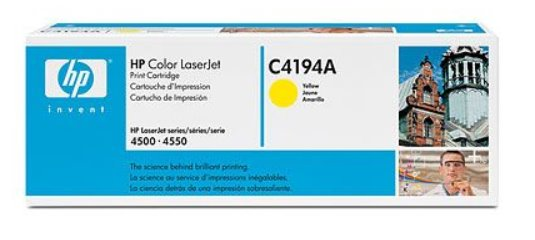 HP Yellow Toner Cartridge CLJ4500