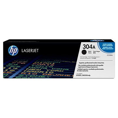 HP Toner cartridge, black pre CP2025 pre 3,500 str.