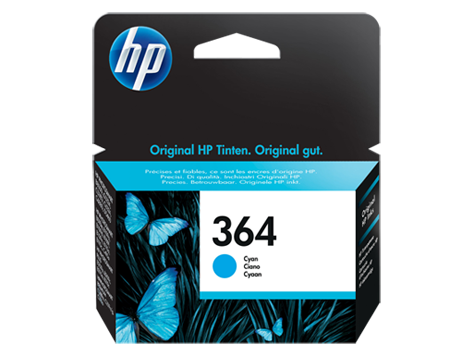 HP 364 Cyan Inkjet Print Cartridge