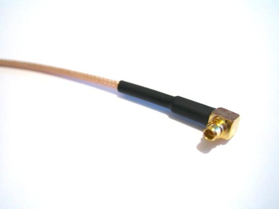 WIFI prepojovací kábel (pigtail) MMCX / R-SMA female, 20cm