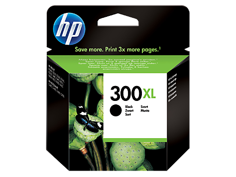 HP 300XL Black Ink Cartridge with Vivera Ink