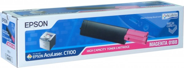 Epson toner AcuLaser C1100 magenta HC
