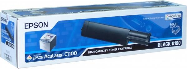 Epson toner AcuLaser C1100 black HC