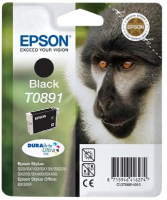 Epson atrament S S20/SX105/SX205/SX405 SO BX300F black