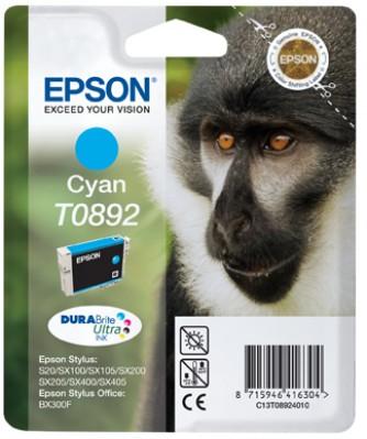 Epson atrament S S20/SX105/SX205/SX405 SO BX300F cyan
