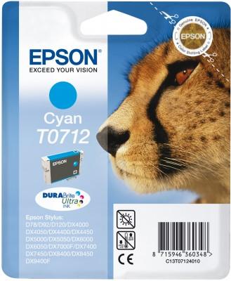 Epson atrament S D120,DX4450,DX7450,DX8450,DX9400 cyan