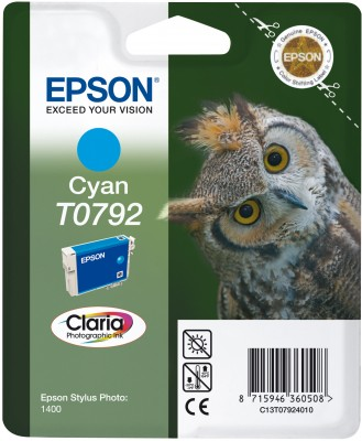 Epson atrament SP PX660/PX820/1400/1500W cyan