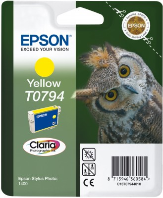 Epson atrament SP PX660/PX820/1400/1500W yellow