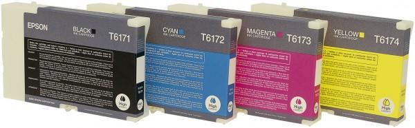 Epson atrament BI B500DN/B510DN cyan HC