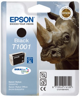Epson atrament SO B40W/BX600FW; S SX600FW black