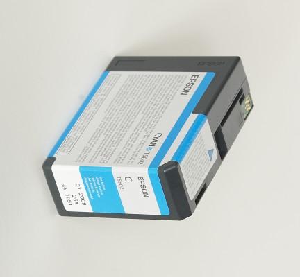 Epson atrament SPro 3800/3880 cyan 80ml