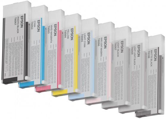 Epson atrament SPro 4880 vivid magenta 220ml