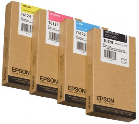 Epson atrament SPro 7450/9450/7400/9400 yellow 220ml