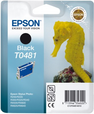 Epson atrament SP R200/R220/R300/R340/RX500/RX640 black
