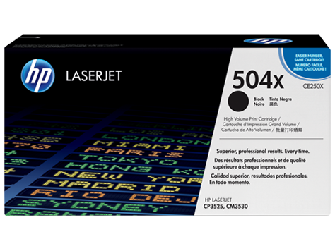 HP Color LaserJet Black Print Cartridge (up to 10,000 pages)