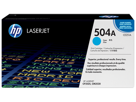 HP Color LaserJet Cyan pre CP3520 sériu (up to 7,000 pages)