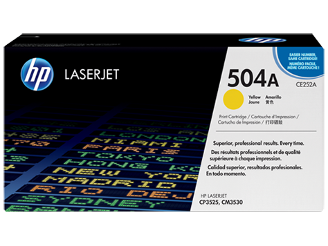 HP Color LaserJet Yellow pre CP3520 sériu (up to 7,000 pages)