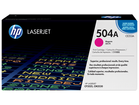 HP Color LaserJet Magenta pre CP3520 sériu (up to 7,000 pages)
