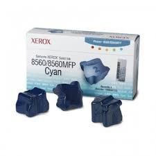 Genuine Xerox Solid Ink-8560W Cyan (3 STICKS)