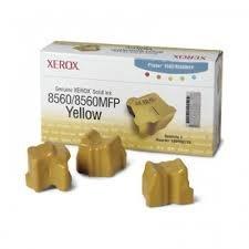 Genuine Xerox Solid Ink-8560W Yellow (3 STICKS)