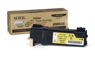 Xerox YELLOW TONER CARTRIDGE, PHASER 6125 1K