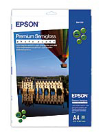 Epson papier Premium Semigloss Photo, 251g/m, A4, 20ks