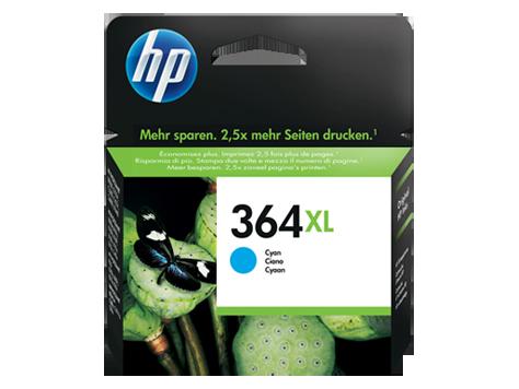 HP 364XL Cyan (750 strán)