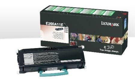 Lexmark E260, E360, E460, 3,5K Return Program Toner Cartridge