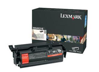 Lexmark X654,X656,X658 , ExtraHighYield Ret.Prog. Print Cartridge 36K