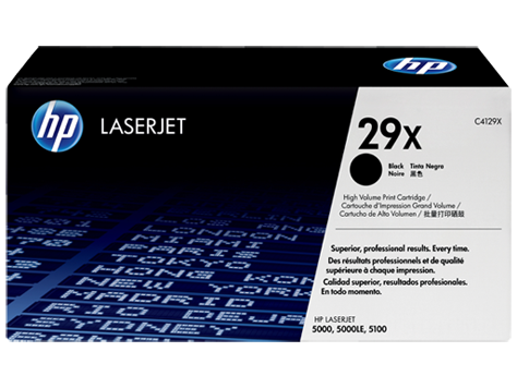 HP Toner Cartridge for HP LJ 5000/5100 (appx. 10000 pages)