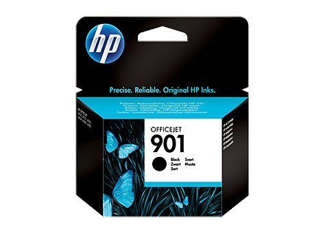 HP 901 Black Officejet Ink Cartridge