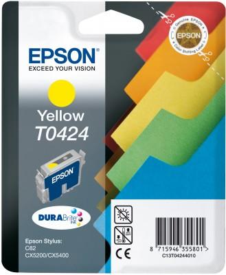 Epson Singlepack Yellow T0424