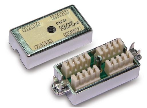 CNS prepojovacia kocka Cat5e STP - 2x 110