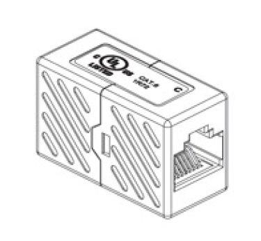 CNS prepojovacia spojka Cat5E UTP - 2x female 8p8c