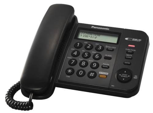 Panasonic KX-TS580FXB jednolinkovy telefon / cierny