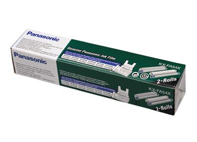 Panasonic KX-FA54E tlacovy film 2ks - pre KX-FP148/ FC248/ FC238 (2 x 35m)