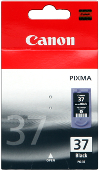 Canon cartridge PG-37 BLACK BL EUR SEC